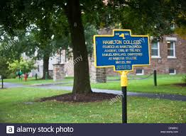 Clinton Ny Clinton Hamilton College Stock Photos U0026 Clinton Hamilton College