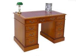 Schreibtisch 130 Schreibtisch Bürotisch Büromöbel Eibe Kirsche Im Englischen Stil