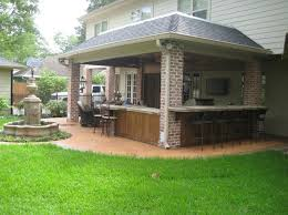 Concrete Patio Houston Home Additions Built On Concrete Columns Pictures Custom