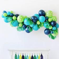 balloon garland dinosaur roar balloon garland kit happy wish company