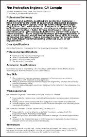Carpenter Resume Sample by Fire Safety Engineer Cover Letter