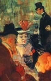 Je est un autre      D  tail du Moulin Rouge        Toulouse Lautrec  Chicago  Art Institute