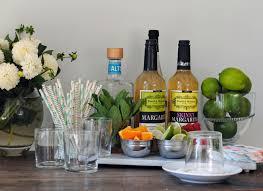setting up a margarita bar domestikatedlife