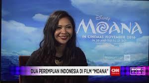 film moana bahasa indonesia full showbiz news keterlibatan perempuan indonesia dalam film moana