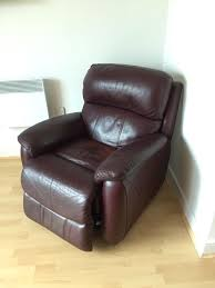 Reclining Leather Armchairs 2 X Broken Electric Recliner Leather Chairs In Weston Super Mare