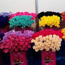 wooden roses half open bud starter pack trade show promotion 1800 roses more