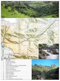 Drakensberg Mountains Map Amagug U0027esizwe Treasure Of The Nation