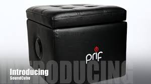 prif soundcube gaming chair with sound and storage youtube