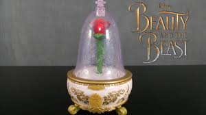 beauty and the beast light up rose beauty and the beast enchanted rose jewelry box from jakks pacific