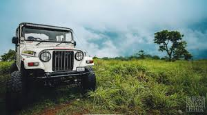 thar jeep modified in kerala adventurous off road drive with jeep aanavandi travel blog