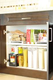 kitchen cabinets organization
