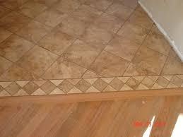 floor tile flooring contractors on floor with sheet vinyl