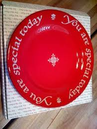 you are special plate celebrate plate make someone s day happy message on the plate