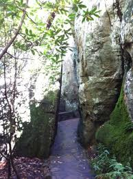 rock city gardens lookout mountain ga picture of rock city