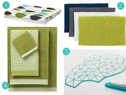 Modern Bathroom Towels Roundup 12 Modern Bathmats And Towels Curbly