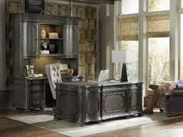 Vintage Desk With Hutch by Hooker Furniture Home Office Vintage West Executive Desk 5700 10563