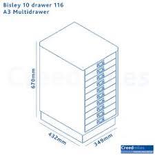 Bisley 10 Drawer Filing Cabinet Bisley 10 Drawer 116 A3 Multidrawer U2013 Creed Miles Interiors That