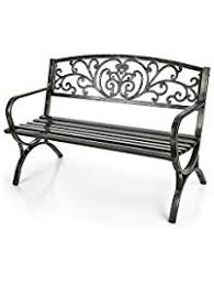 Outdoor Bench Furniture by Amazon Com Benches Patio Seating Patio Lawn U0026 Garden