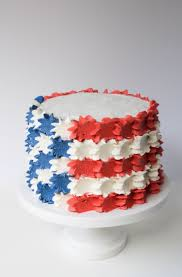 Cake Icing Design Ideas Best 25 4th Of July Cake Ideas Only On Pinterest Fourth Of July