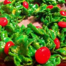 marshmallow cornflake holly berry treats recipes to make again