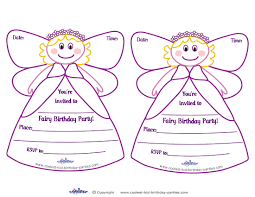printable fairy invitations coolest free printables http