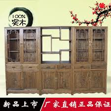 wood bookcase free combination of ming and qing antique furniture