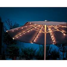 Patio Umbrella String Lights Home Umbrella String Lights Clear 72 Count Opens In A New
