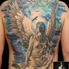 beautiful angel tattoo 3 angel back tattoo on tattoochief com
