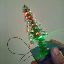 aliexpress buy 7 color 3d tree led flash diy kit