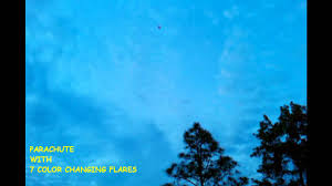 Color Of Earth by Parachute With 7 Color Changing Flares By Tnt Fireworks Youtube