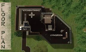 Lakehouse Floor Plans Mod The Sims Modern Lake House Basegame Version