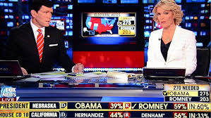 Romney Obama Map Fox News Announces Re Election Win Of President Barack Obama 11