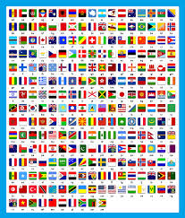 World Map Country Flags Countries Flags And Their Short Names Flags Quiz Answers For All