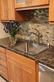 Slate Backsplash Ideas For The by Subway Tile Sized Slate For Backsplash This Would Look Even