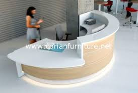 Buy Corian Countertops Online Formica Laminated And Corian Countertop Round Shaped Office