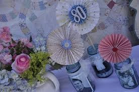 Centerpieces Birthday Tables Ideas by 80th Birthday Centerpieces 80th Birthday Ideas
