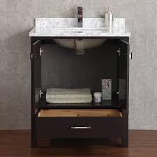 Bathroom Vanities 30 Inch by Buy Vincent 30 Inch Solid Wood Double Bathroom Vanity In Espresso