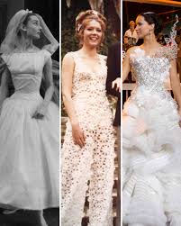weddings dresses the most iconic wedding dresses of all time martha stewart
