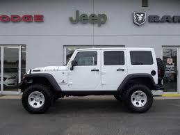 white jeep 2014 2014 white aev jk350 unlimited rubicon american expedition