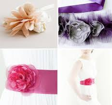 flower belts u0026 sashes for your wedding green wedding shoes