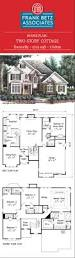 donnelly 2513 sqft 5 bdrm two story cottage house plan design