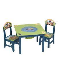 guidecraft noahs ark table u0026 chairs set zulily