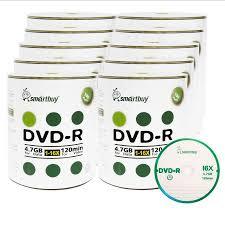1000 pack smartbuy 16x dvd r 4 7gb 120min logo non printable