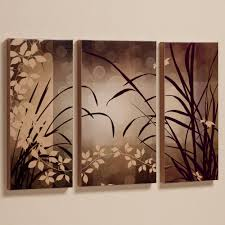 natur design wall ideas design celebrate elegance wall triptych