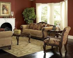 Chenille Sofa And Loveseat Old World Living Rooms Old World Traditional Living Room