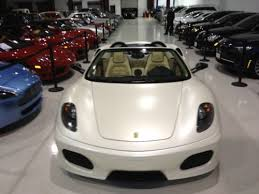 white f430 for sale sell used berlinetta coupe giallo challenge wheels shields daytona