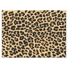 cheetah print tissue paper leopard spots craft tissue paper zazzle