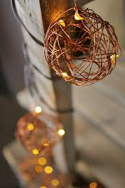 copper wire lights battery copper wire ball led fairy lights battery operated 7 ft brown wire