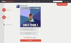 Success Meme Generator - how to make a meme on the internet