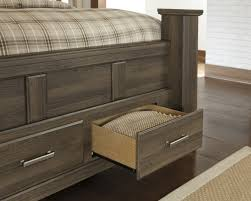 buy juararo queen poster storage bed by signature design from www